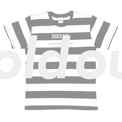 Boader T-shirt(WHITE/BLACK)